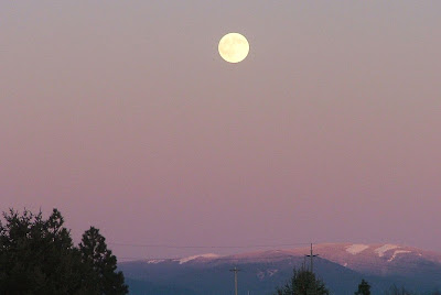 Full Moon Idaho Full Moon