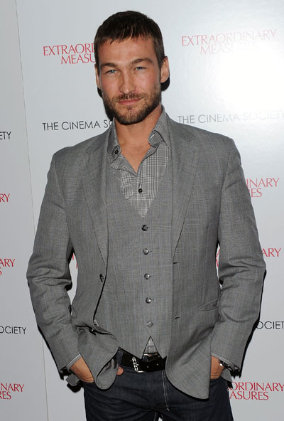 andy whitfield Hairstyle