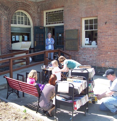 Summer Sidewalk Book Sale