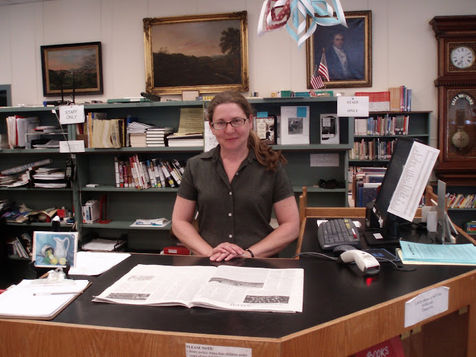 Librarian, Rebecca Brown