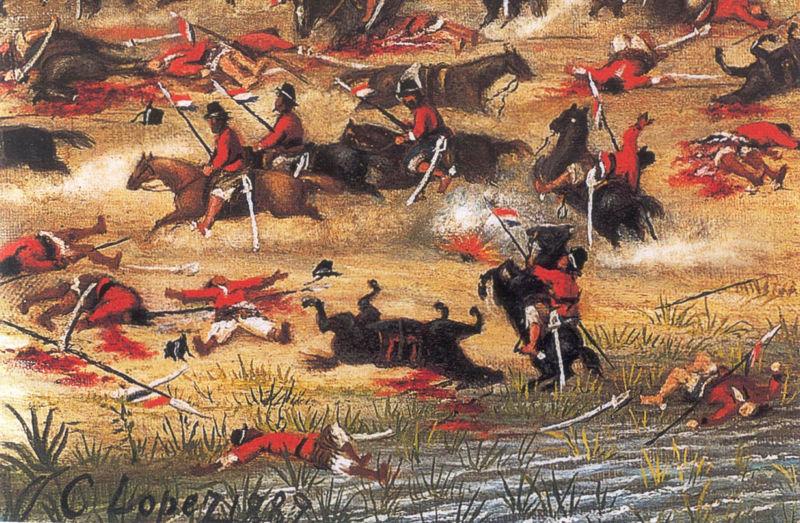 la guerra peru: