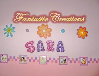 Letras decorativas para habitaciones infantiles y beb s - Letras decorativas infantiles ...