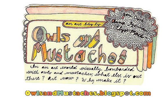 Owls & Mustaches