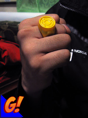 Yellow Lantern Ring Replica
