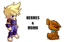 Hermes y Momo (viñetas)
