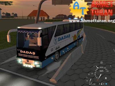 Yolcu Otobüsü Sürme ve Park Etme Oyunu