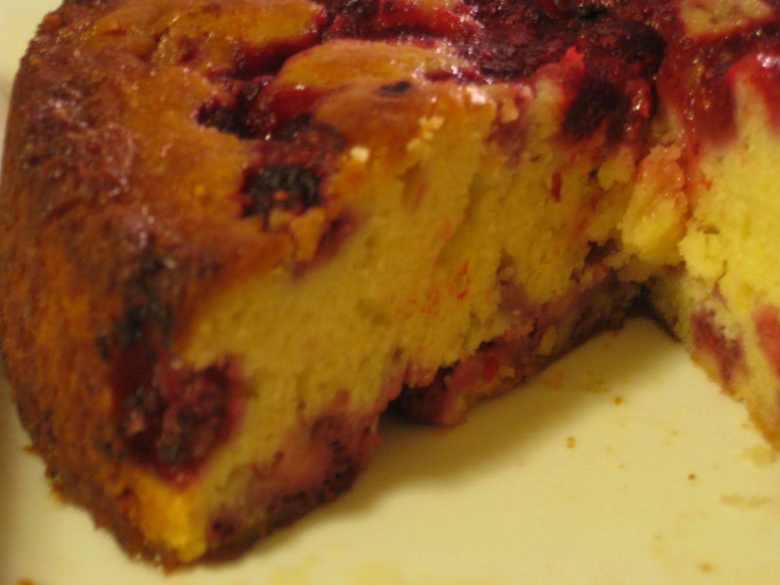 ... au Yaourt à la Framboise (French Yogurt Cake with Raspberries