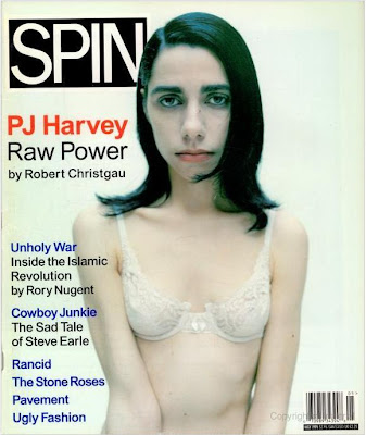pj harvey, spin magazine, May 1995