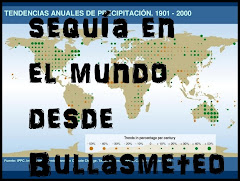 SEQUIA EN EL MUNDO DESDE BULLASMETEO