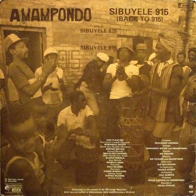 Amampondo Sibuyele 915