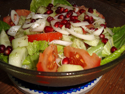 Surfing the world cuisine: Pomegranate for salad