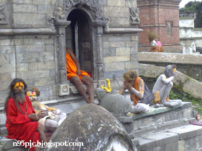 sadhus and jogis