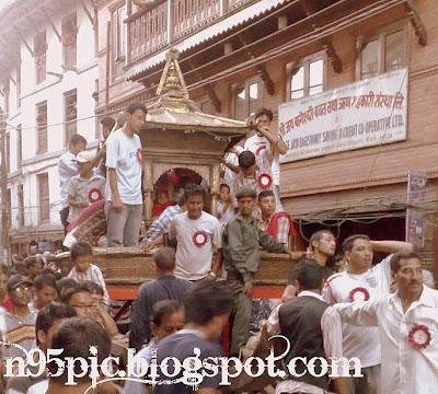 The kumari chariot