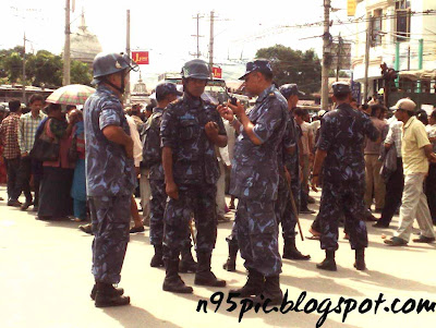 strike against maoist,maobadi in nepal,Leader of Maobadi