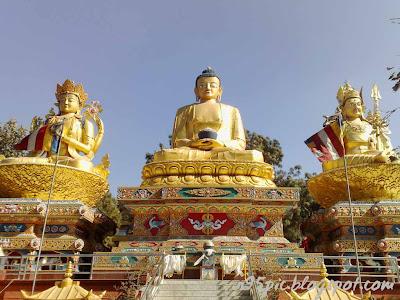 Buddha park,Swoyambunath Stupa base,siddhartha gautam buddha,buddha in nepal,buddhist,buddhism