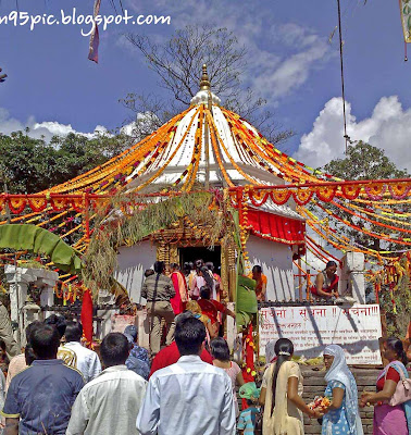 Worshiping Goddess, Goddess Temple, Durga statue, Mata Durga temple, Statue of Goddess , History, Pokhara,Nepal, Temple