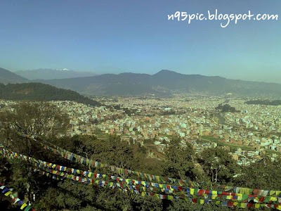 view of kathmandu from swayambhunath,view of kathmandu city,different look of city