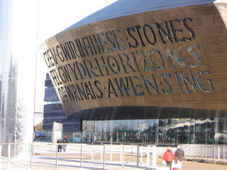 Photo by Rullsenberg: Millenium Centre, Cardiff