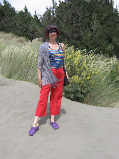Rullsenberg in the dunes at Woodend Beach Xmas Eve 2009