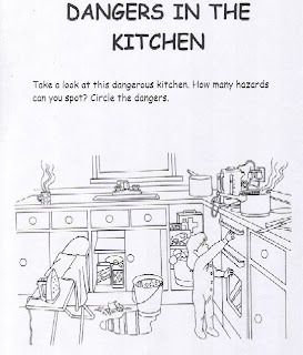 Teaching students with learning difficulties health and for 5 kitchen safety hazards