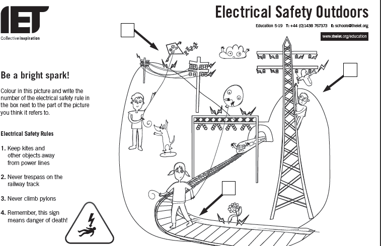 Collection of Electrical Safety Worksheet Sharebrowse – Electricity Worksheets