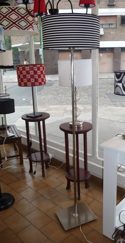 Iluluz iluminaci n lamparas de pie - Lamparas decorativas de pie ...
