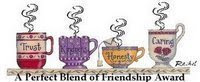 Blend Of Friendship Award