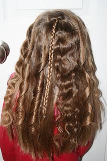 Tween Hairdo