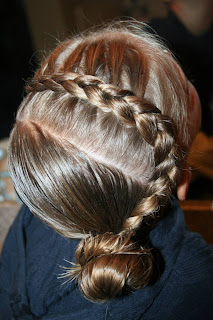 Reverse French Braid