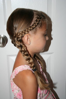 French Doubled-Up Braids