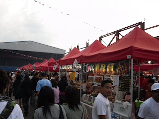 Hawker Stalls at the Richmond Summer Night Market