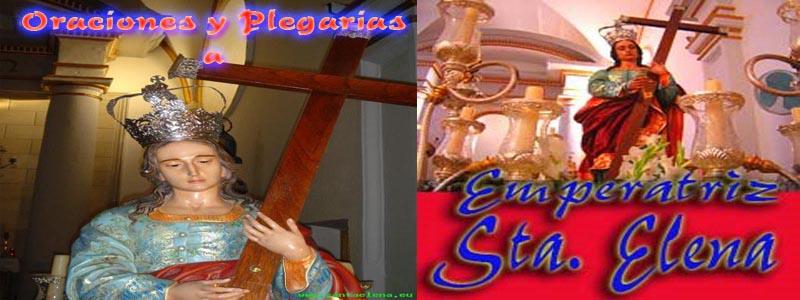 Oraciones a Santa Elena
