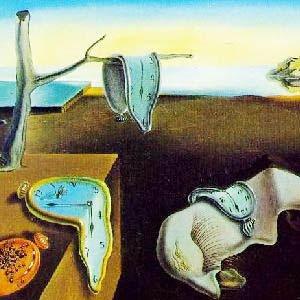 el tiempo, dali, surrealismo, blog erase una vez asi, blog de julia zavala