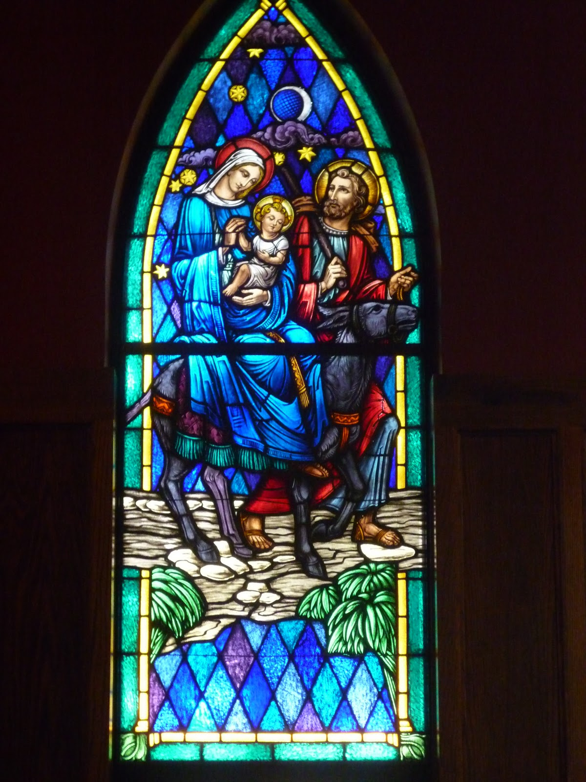 Church Stained Glass : Atonementonline december