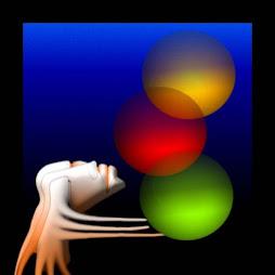 Malabarista de colores