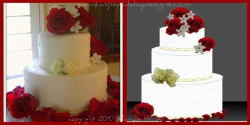Design Your Own Virtual Wedding Cake : A Special Day Designs DIY Sacramento Lake Tahoe Wedding ...
