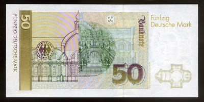 Germany Paper Money 50 Deutsche Mark currency image gallery