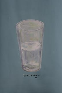 Susan Famas Courage - half full