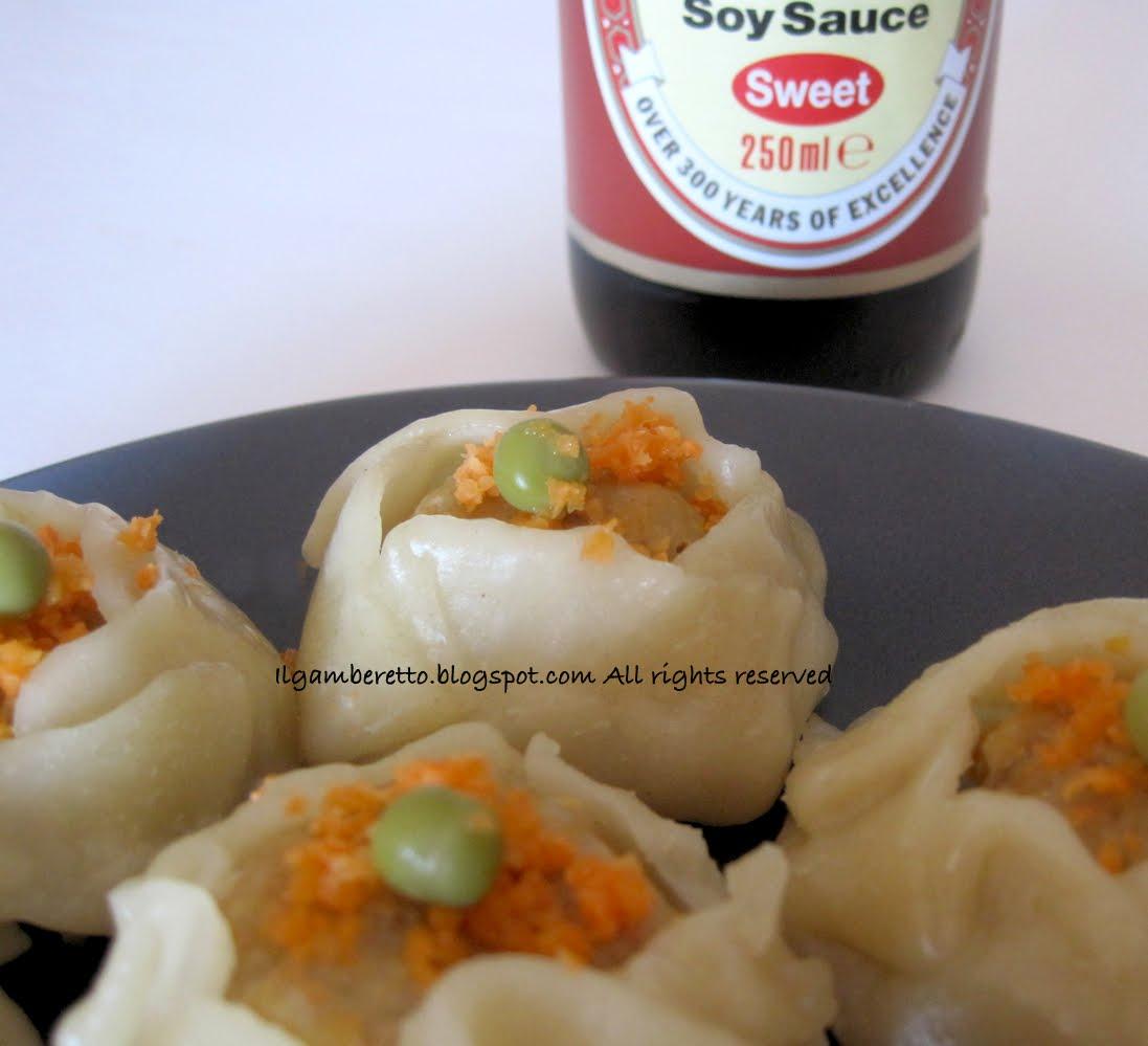 Il Gamberetto: La cucina cinese: i ravioli al vapore con gamberi e ...