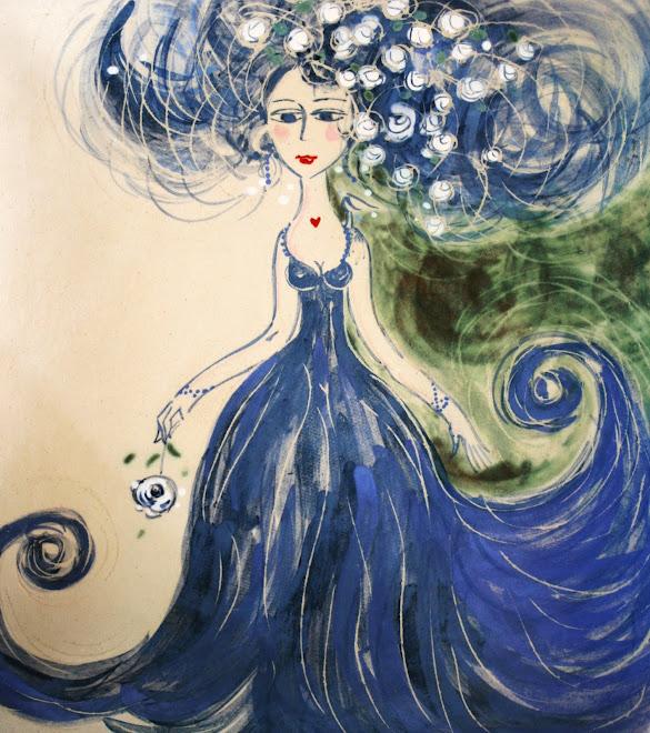 Bleue...
