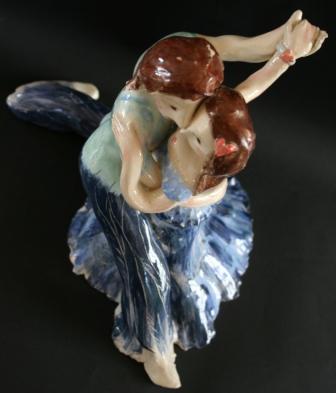 Danseurs amoureux.
