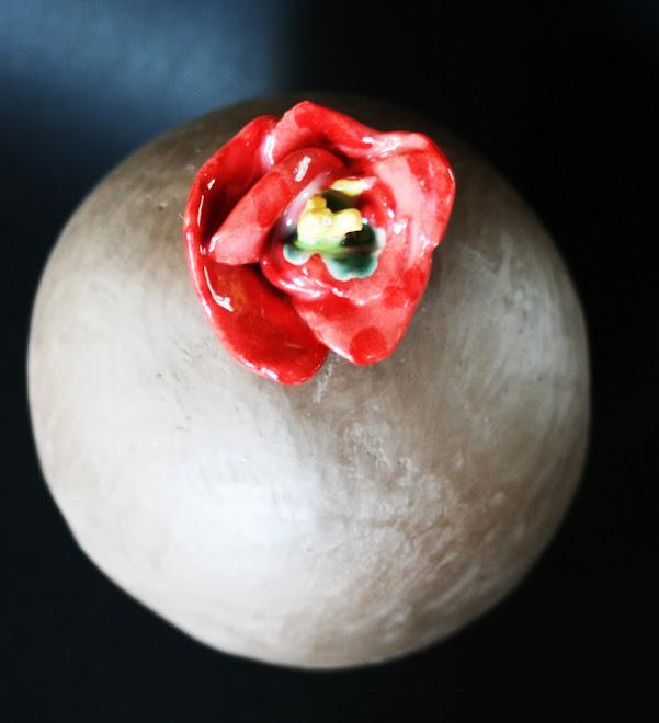 Une fleur... mon coeur.