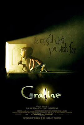 Be Careful what you wish for - Coraline Movie Poster