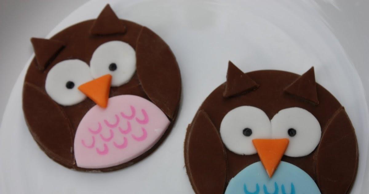 Cake Art Kirkland Wa : Whimsical by Design: New Owl Cupcake Toppers
