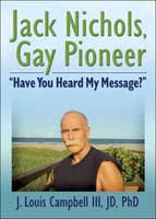 Jack Nichols biography book cover