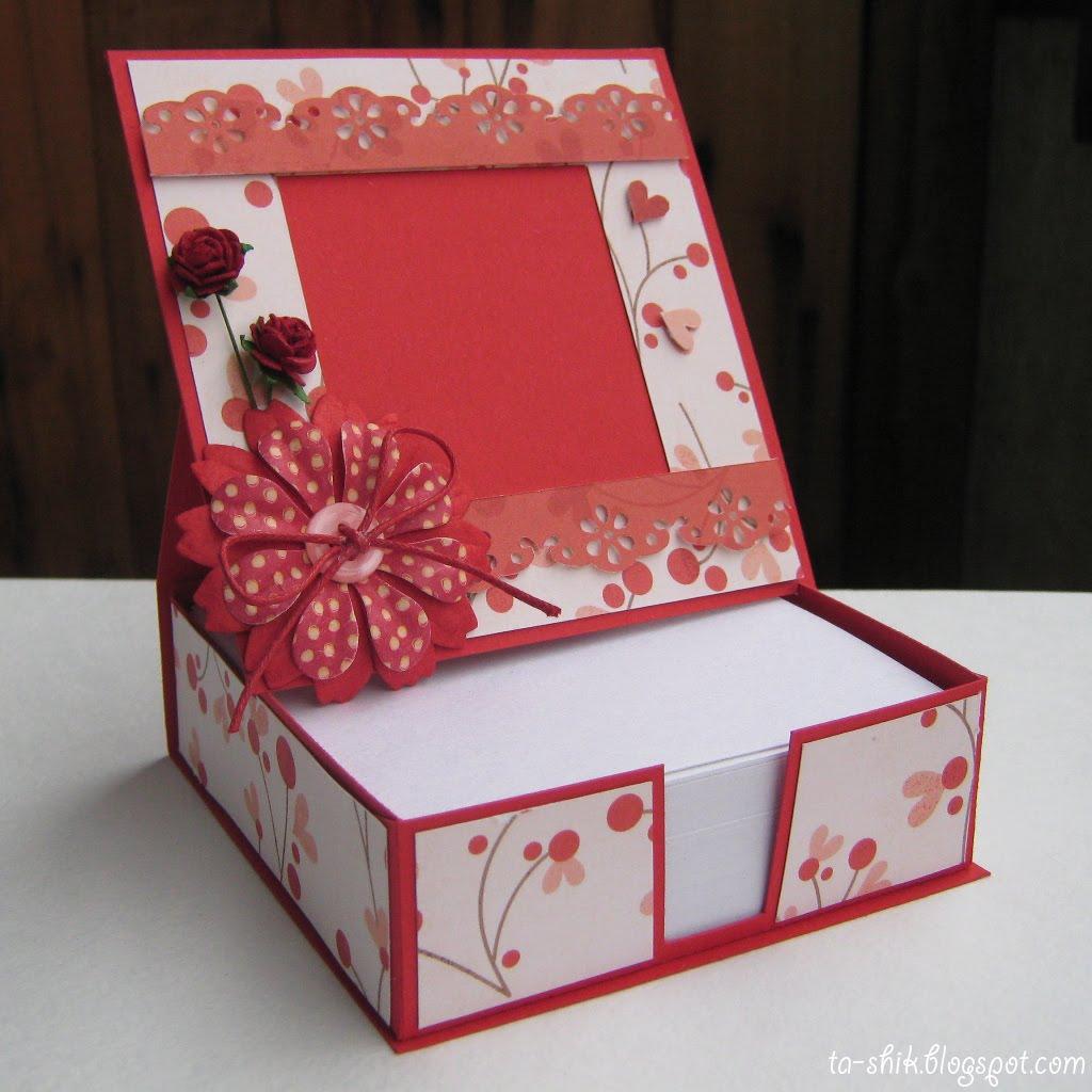 Коробка для скрапбукинга своими руками 38