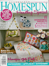 ALfa studio guest artistist on Homespun craft magazine