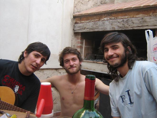 Pablo, Ale y Fer