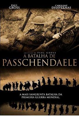Filme Poster A Batalha de Passchendaele DVDRip RMVB Dublado