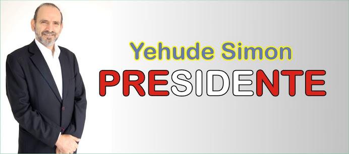 Yehude Simon Presidente